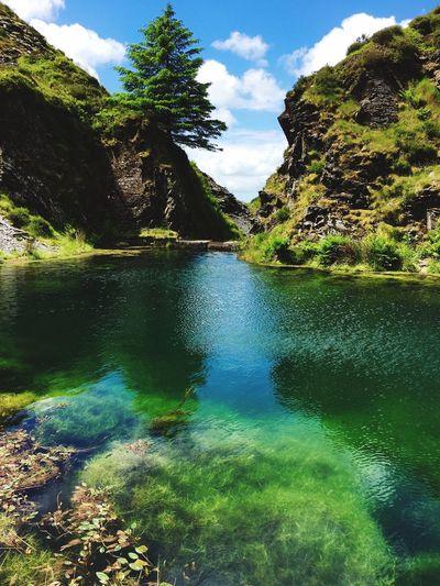 Rosebush Quarry, Pembrokeshire Nature Quarry Pembrokeshire Stunning Beautiful Beauty In Nature