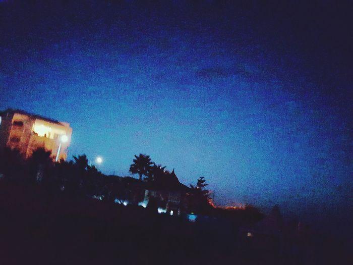 Beach At Night . La kasbaht morocco