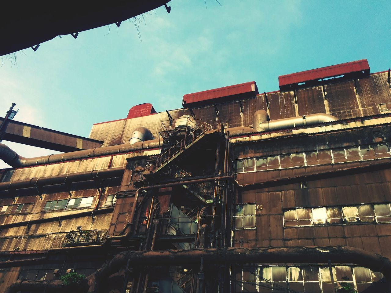 architecture, low angle view, building exterior, built structure, sky, no people, outdoors, day