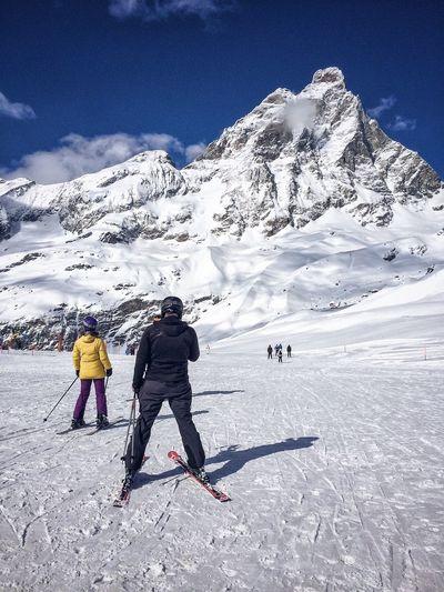 Matterhorn. Showcase March Winter Mountains And Sky NEM Street