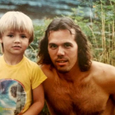 How I became a bossss Dad Hair E .T. Baller shirtlessinthemountains