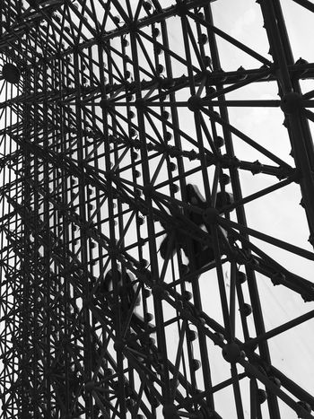 Modern Architecture at Window of the World Pyramid in Shenzhen - China Architecture Modern Architecture Chinese Architecture Window Of The World  Architectural Detail Pyramid Monochrome Building Interior Shenzhen Black And White Architectural Pyramids Chinese Lattice Pattern Abstract Inside China Pattern