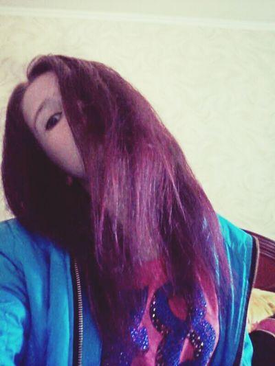 покрасилась фиолетовая ятеперь