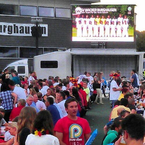 Public viewing Burghausen Bürgerplatz