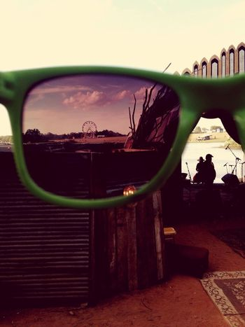 See things through my eyes! Oklahoma Tulsa Festival Glasses Backwoods Green Amazing Faris Wheel Funky Funk Photo Photography Shot Music ItWasAmazing Life 2016 Nature Tulsa, Oklahoma Memories