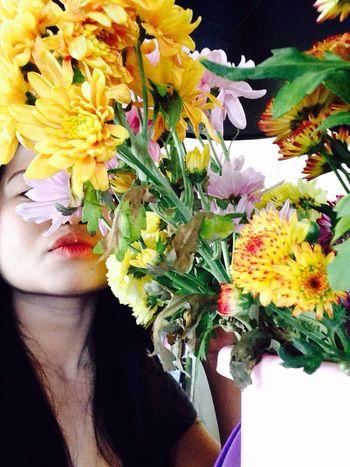 Kiss flowersss ... ?❤️?