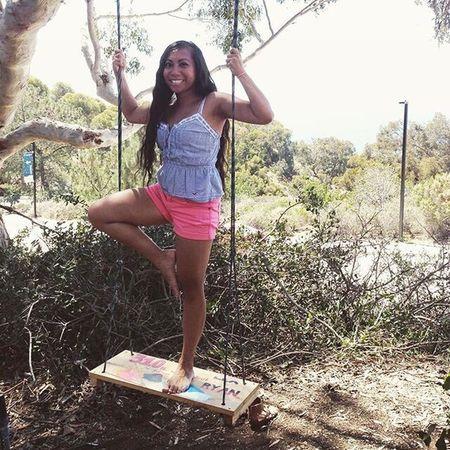Tree Pose Yoga Swing Lajolla San Diego