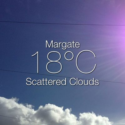 Weather Instaweather Instaweatherpro Sky outdoors nature world margate unitedkingdom day summer clear gb