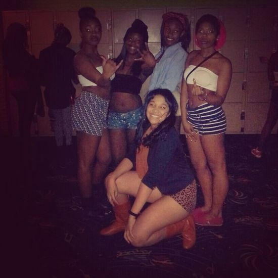 At TwerkFest2k13 Yesterday With My Bitches