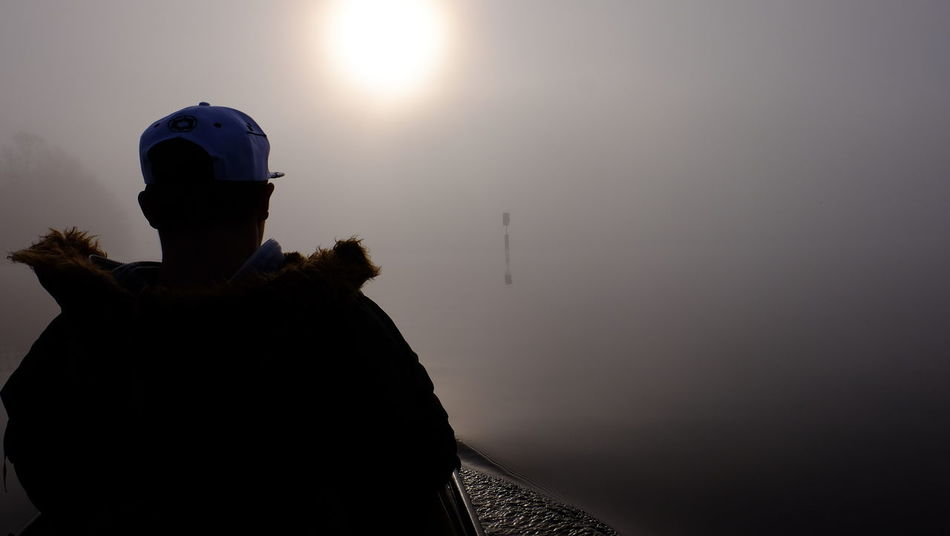 Kajak Kayaking In Nature Fog Foggy Morning Kayak One Person Outdoors Silhouette Wannsee See The Light Perspectives On People Black And White Friday Be. Ready. EyeEm Ready   An Eye For Travel Love Yourself This Is Masculinity Inner Power Summer Exploratorium
