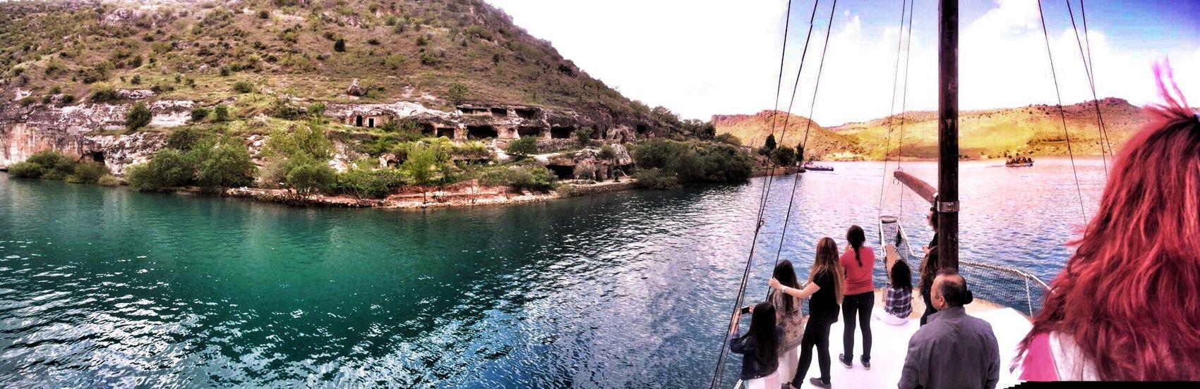 Tb :) Check This Out Hello World Taking Photos Enjoying Life Şanlıurfa Halfeti Panoromic Mobilephotography Lake