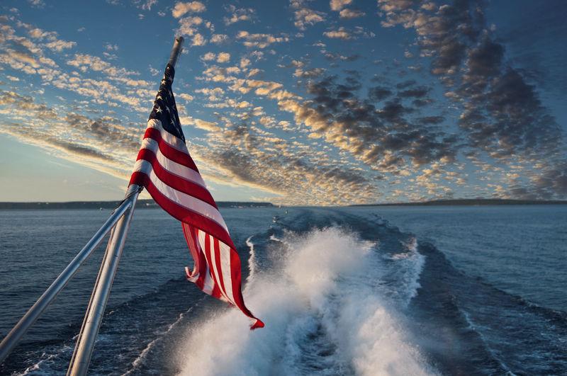 All america on the mackinaw straits