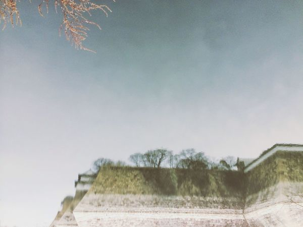 大阪城 in Water
