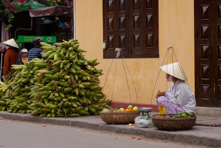 View of fruits in market