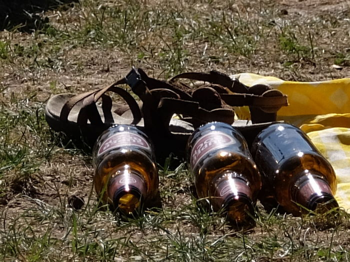 Beers Brown Close-up Grass Relaxing Sandals Yellow Streetphotography_fujifilm