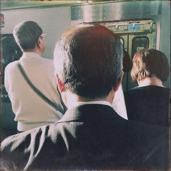 Subway Station People Watching
