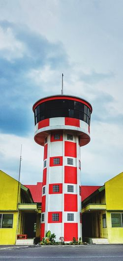 AFFR Protection Safety Tower Lighthouse Building Exterior Cloud - Sky Built Structure Architecture Security Guidance Radar Security System Flag Lifeguard Hut Outdoors Lookout Tower Landscape Sky No People Day Mobilephotography PhonePhotography SamsunggalaxyS8+ Samsungphotography