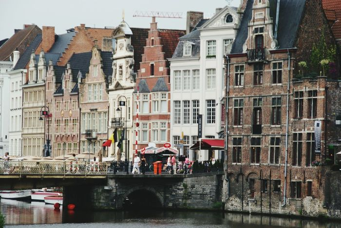 Boat Nature Canals Canals And Waterways Brujas Nature_collection Brussels City Foto Artistica Album Bruselas Paisajes
