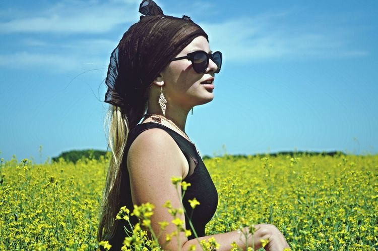 Me Field Girl Summer Beauty 2014