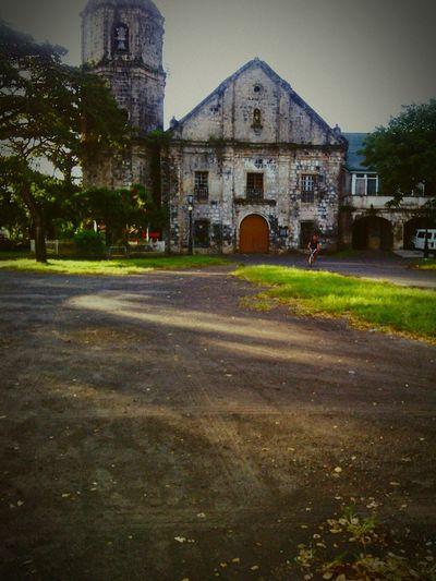 The historic church of St. John The Baptist Parish in Camalig, Albay, Philippines. My Hometown Churchporn Afterschool  Hometown Pride