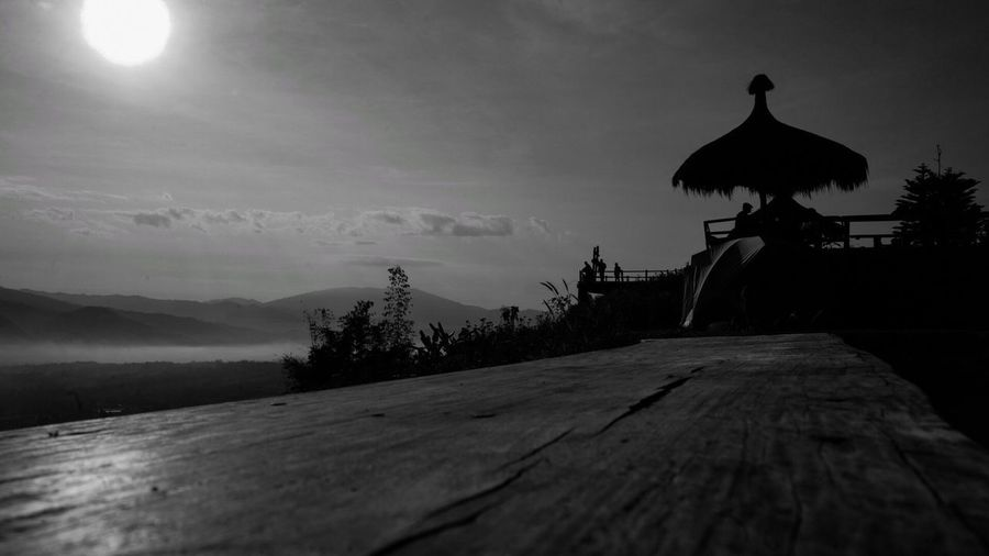 Northern in Thailand Thailand Stepstrong Blackandwhite Tourism Sky Cloud - Sky Mountain Silhouette Nature Beauty In Nature Scenics - Nature Sunlight Lifestyles
