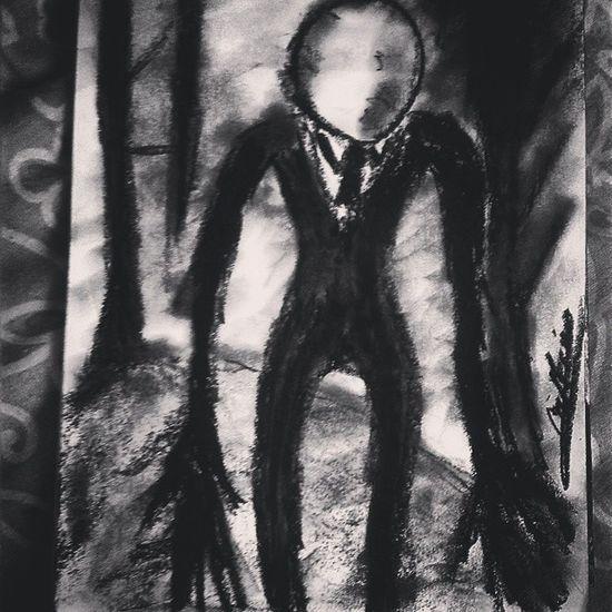 SlenderMan Creepypasta Horror Notte Paura