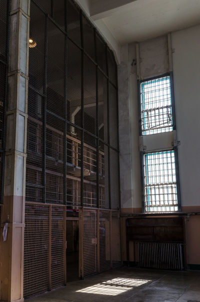 Alcatraz Alcatraz Alcatraz Island Prison Day Punishment Abandoned Indoors  Built Structure Architecture Window Absence Domestic Room Building No People Sunlight Security Empty Glass - Material Prison Cell Crime