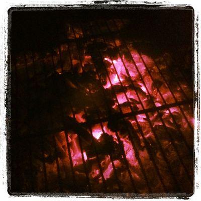 Coals.. Charcoal Barbeque Dinner Suryagarh Jaisalmer Rajasthan India