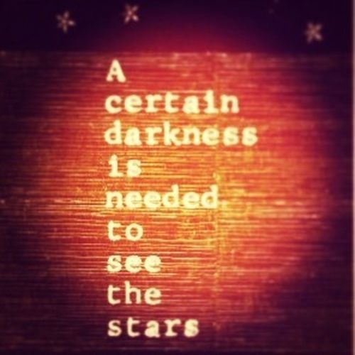 Darkness falls Quotes