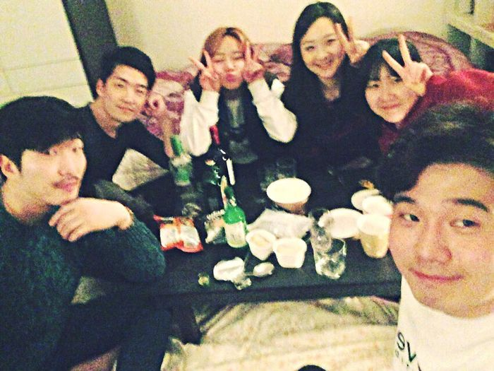 2015.03.16 Feel So Good Enjoy ✌ Hangingout Drunk Nights