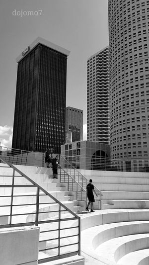 Tampa Buildings & Sky Enjoying Life Tampa Fl Streamzoofamily Blackandwhite Streetphotography Southern Life Light And Shadow Cityscapes