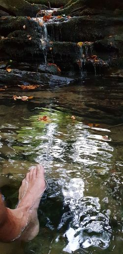 barefoot Stream - Flowing Water