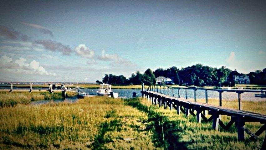Massachusetts Tranquil Scene New England  Ocean❤ Sand And Sea Beach Duxbury Bridge Landscapes With WhiteWall Landscape_Collection