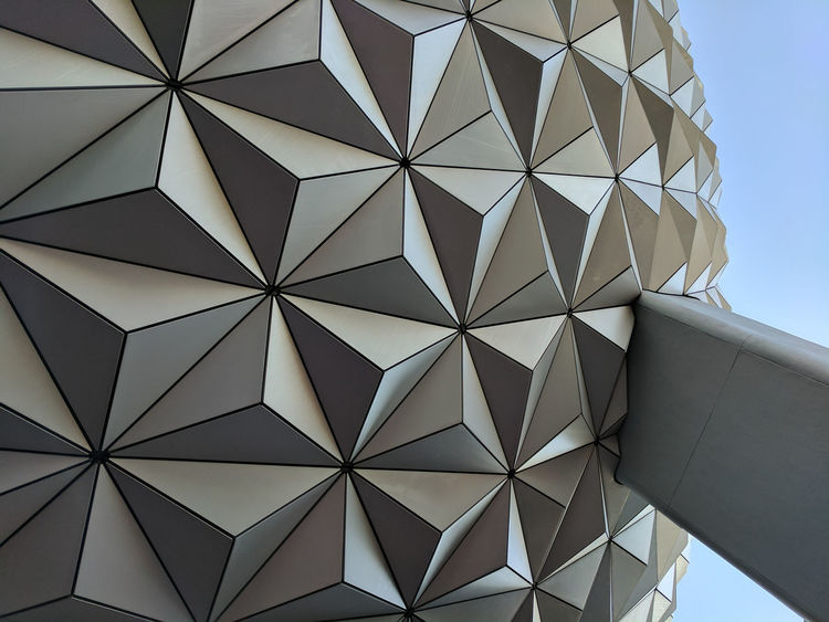 Architecture Backgrounds Close-up Day Disney Disneyland DisneyWorld Epcot Epcot Disney World Low Angle View No People Outdoors Pattern