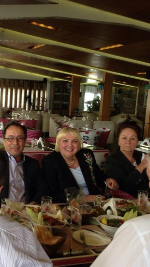 Lunch With Claudia Roth And The German Bundestag Delegation To Beirut
