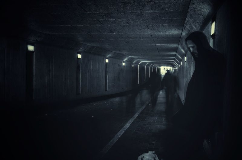 I feel like I just wanna go back to being more underground. https://youtu.be/-hH1zutgUGk Long Exposure Self Portrait Illuminated Night Real People Architecture Men Lifestyles Tunnel Dark