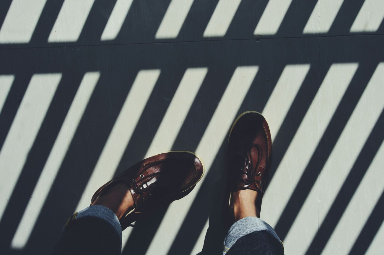 Shadow line in