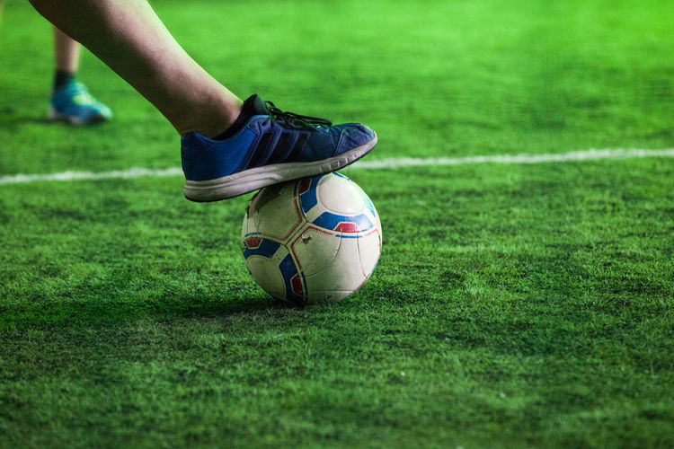 Shoe Action Activity Artificial Grass Ball Grass Green Color Human Body Part Human Leg Legs Soccer Soccer Ball Soccer Field Soccer Player Soccer Shoe Sport Sports Clothing Sportsman The Week On EyeEm Discover Berlin Be. Ready. Inner Power Going Remote