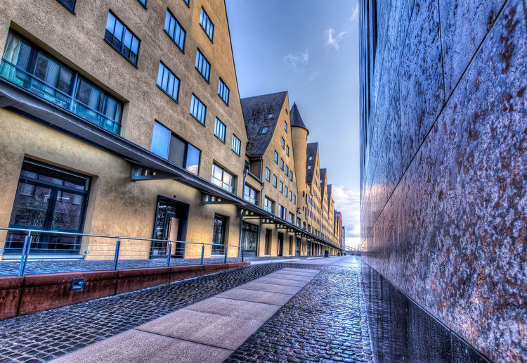 Agrippinawerft Architecture Building Building Exterior Built Structure City City Life Cologne Cologne , Köln,  Cologne 2015 Cologne My Love Composition HDR HDR Collection Hdrphotography Leading Office Building Outdoors Perspective Residential Structure Rhein Rheinauhafen Rhine Rhine River River Urban