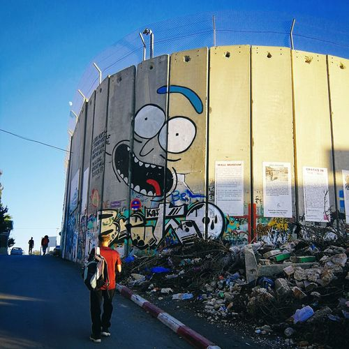 Sightseeing in Palestine... Palestine West Bank Wall Street Art Graffiti