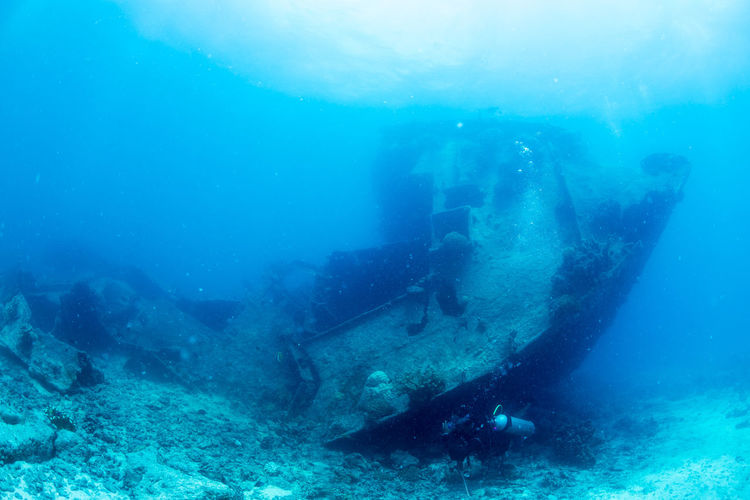 Wreck Adventure Beauty In Nature Nature Outdoors People Scuba Diver Scuba Diving Sea Sea Life Sunken UnderSea Underwater Underwater Photography Vacations Water Wreck Diving