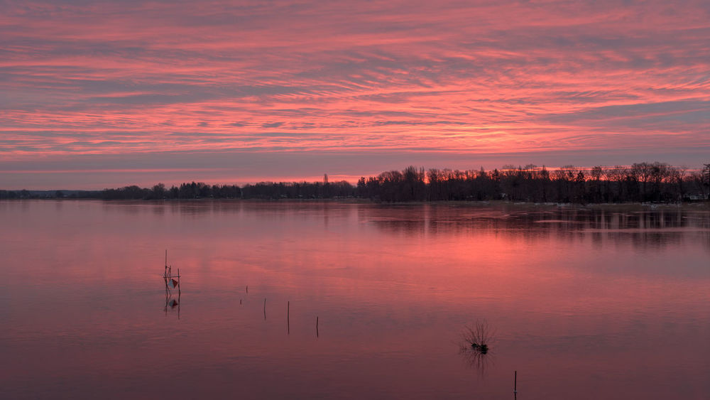 Brandenburg Havelland Germany Hohennauener See Rathenow Beauty In Nature Hohennauen Idyllic Lake Nature No People Orange Color Outdoors Reflection Scenics Silhouette Sky Sunset Tranquil Scene Tranquility Tree Water