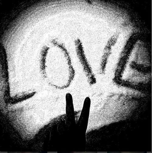 All we nees is love ❤✌ All We Need Is Love The Beatles Love ♥ B&W Portrait Peace ✌