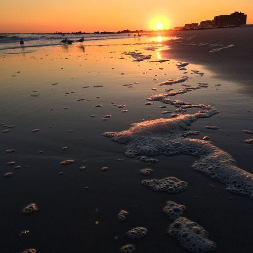 Sunset At Long Beach, NY Splendid_reflections Visualmagic Eyem Best Shots Nature_collection Popular Photos EyeEm Sunset Sunset_collection Sunset #sun #clouds #skylovers #sky #nature #beautifulinnature #naturalbeauty #photography #landscape