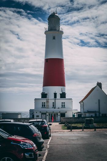 Lighthouse for days Mode Of Transportation Building Lighthouse Tall - High City Street Road Direction Safety Land Vehicle Guidance Motor Vehicle Car EyeEmNewHere