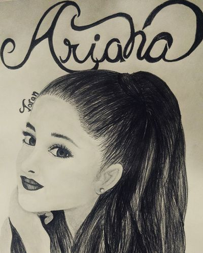 Best singer ever😍😍 Women Headshot One Person People Beauty Close-up Ariana Grande Singer  Dangerous Woman Popstars