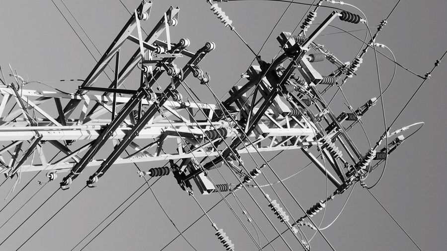 Bw Photography Cable Outdoors Power Supply No People Electricity Pylon Power Line  Electricity  Street Photography