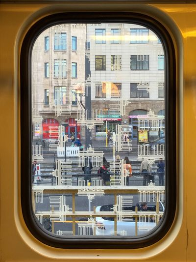 U Bahn Subway Window City Berlin