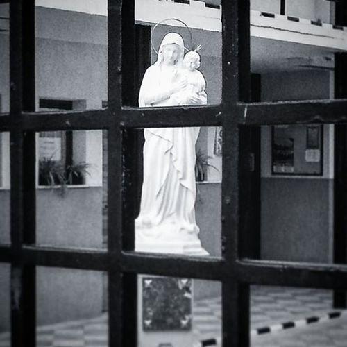 100happydays Virgen encarcelada // Caged virgin 💒🙏😔 Virgen Encarcelada Rejas Jaula Estatua Iglesia Blancoynegro Bn Bnw Blackandwhite Tristeza Sadness Church Virgin  Caged Cage Simbolismo Symbolism Tetrico Religion