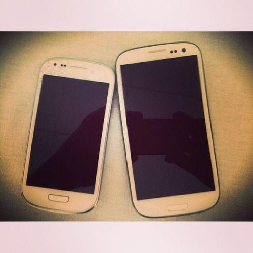 я и моя жена Samsung Galaxys3 Galaxy S3